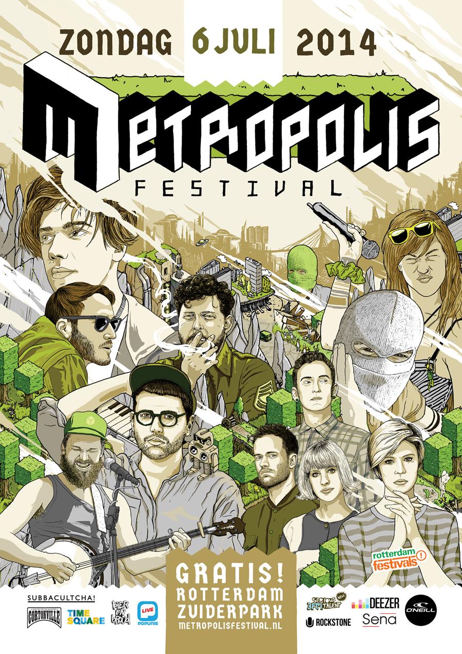 POSTER_2014_METROPOLIS_FESTIVAL_ROTTERDAM